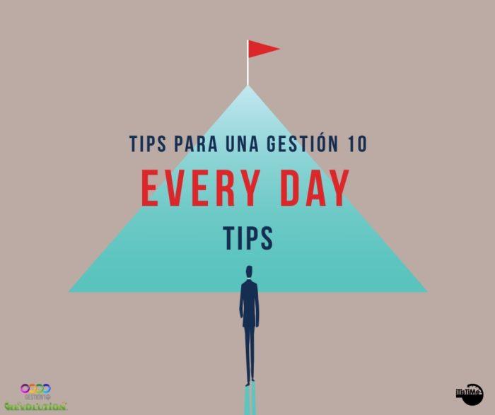 Tips Gestión 10 sobre Organización