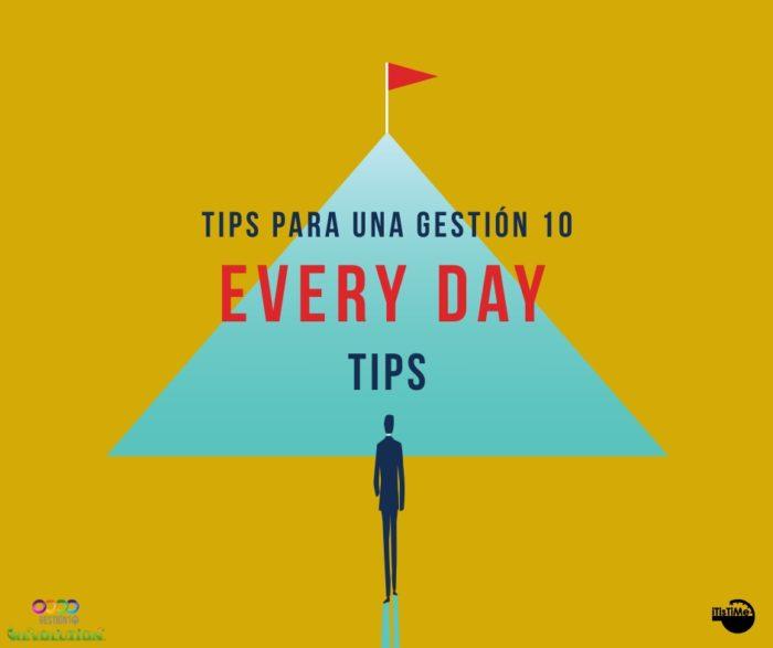 Tips Gestión 10 sobre gestión del tiempo